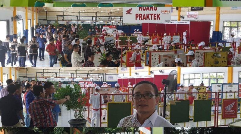 Kunjungan PT AHM dan Maindealer Honda se-Indonesia di SMKN 1 Bendo Magetan